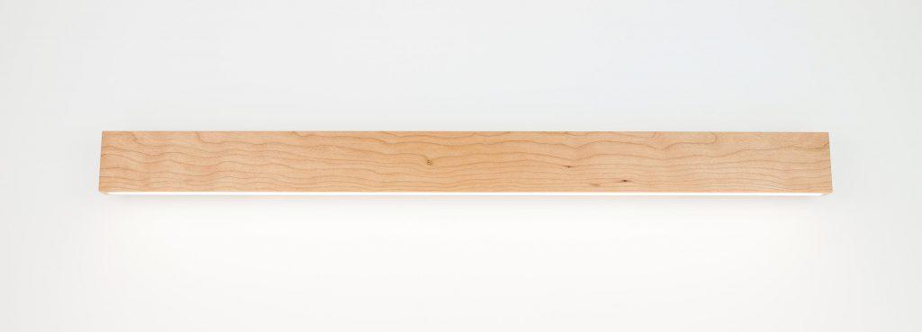 meiLi wall mit Unterlicht in der Holzart Buche